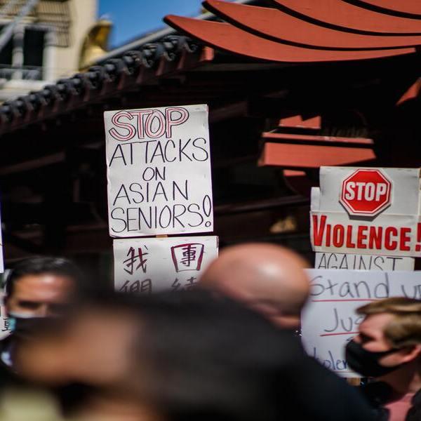 Stop au Asian Hate - Twelve Magazine